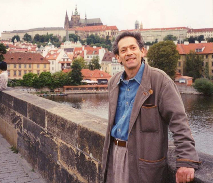 On the Charles Bridge in Prague
